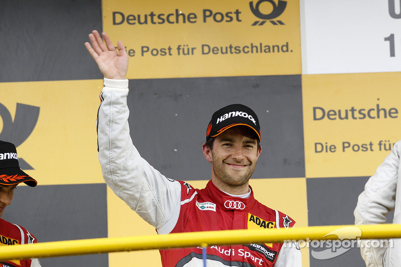 2nd Mike Rockenfeller, Audi Sport Team Phoenix Audi RS 5 DTM