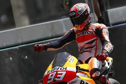 Ganador de la carrea Marc Márquez, Repsol Honda Team