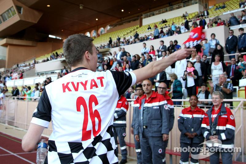 Daniil Kvyat, Scuderia Toro Rosso yardım maçında
