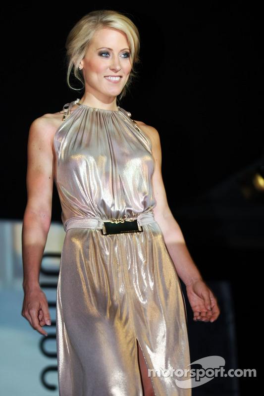 Amber Lounge: Jennifer Becks, Freundin von Adrian Sutil