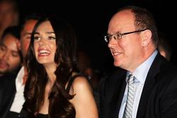 HSH Monaco Prensi Albert ve Tamara Ecclestone, Amber Lounge Fashion Show'da