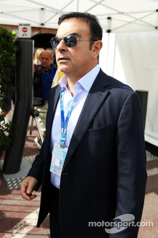 Carlos Ghosn, Renault'nun Başkanı