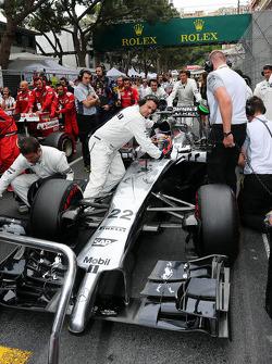 Startaufstellung: Jenson Button, McLaren MP4-29