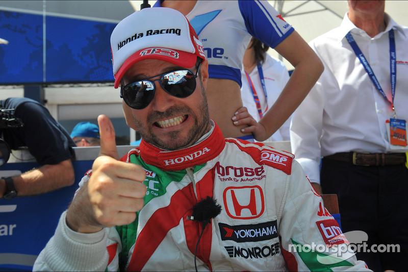 Tiago Monteiro, Honda Civic WTCC, Castrol Honda WTCC team