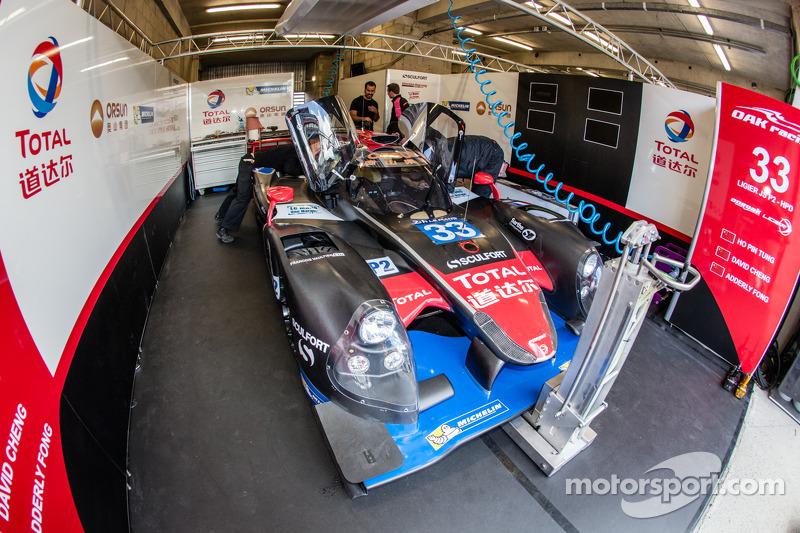 #33 OAK Racing - Team Asia Ligier JS P2 - HPD