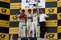 Podium,  2nd Miguel Molina, Audi Sport Team Abt Audi RS 5 DTM, 1st Marco Wittmann, BMW Team RMG BMW M4 DTM, 3rd Bruno Spengler, BMW Team Schnitzer BMW M4 DTM, Stefan Reinhold , BMW Team RMG