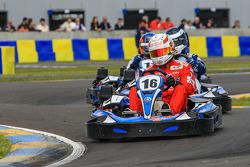 Media/drivers karting race: Dominik Kraihamer