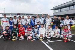Foto de grupo de los conductores Pro. Foto Clément Marin / DPPI