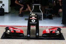 Lotus F1 E22, Frontflügel