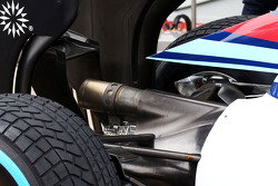 Williams FW36 egzoz detayı