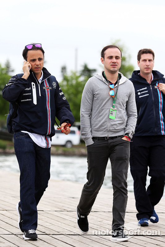 Felipe Massa, Williams ve kardeşi Dudu