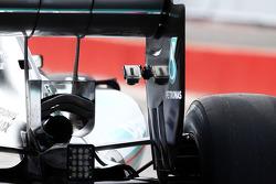 GoPro-Kamera am Heckflügel: Nico Rosberg, Mercedes AMG F1 W05