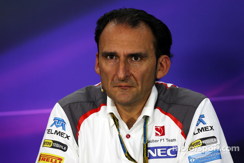 Giampaolo Dall'Ara, Sauber F1 Takımı Pist Üstü Mühendislik Başkanı FIA Basın Konferansı'nda