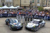 #77 邓普希 Racing - Proton 保时捷 911 RSR (991): 帕特里克·邓普希, 乔·福斯特, 帕特里克·朗, #88 Proton Competition 保时捷 911 RSR (991): 克里斯蒂安·里德, 克劳斯·巴赫勒, 卡勒德·阿尔库拜西