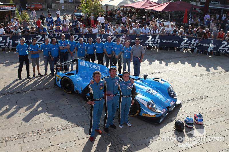 #29 Pegasus Racing 摩根-日产: Julien Schell, Nicolas Leutwiler, Stéphane Raffin