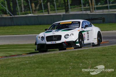 Dyson Racing Bentley test