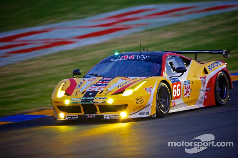 #66 JMW Motorsport 法拉利 458 Italia: 阿卜杜拉兹·阿尔费萨尔, 赛斯·奈曼, 斯潘瑟·庞佩利