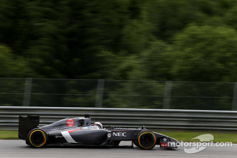 Adrian Sutil, Sauber F1 Team