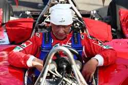 Niki Lauda, Mercedes Non-Executive Chairman is reunited with his Ferrari 312T2
