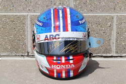 Charity helmet of Takuma Sato