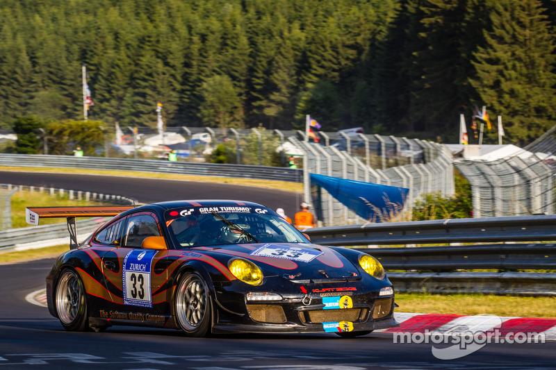 #33 Kurt Ecke Motorsport Porsche 997 GT3 Cup: Peter König, Andreas Sczepansky, Steffen Schlichenmeier, Kurt Ecke