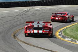 #91 SRT Motorsports 蝰蛇:多米尼克·法恩巴赫, 马克·古森斯
