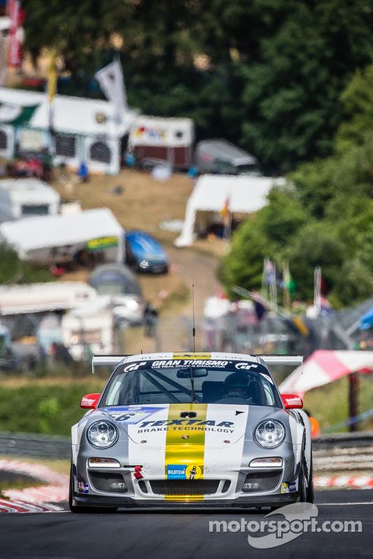 #56 Black Falcon Porsche 911 GT3 Cup: Andreas Weishaupt, Maik Rosenberg, Hannes Plesse