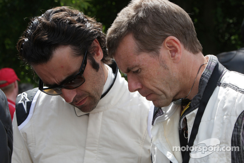Dario Franchitti and Paul Stewart