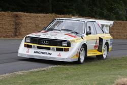 Hannu Mikkola im Audi S1 E2 von 1985