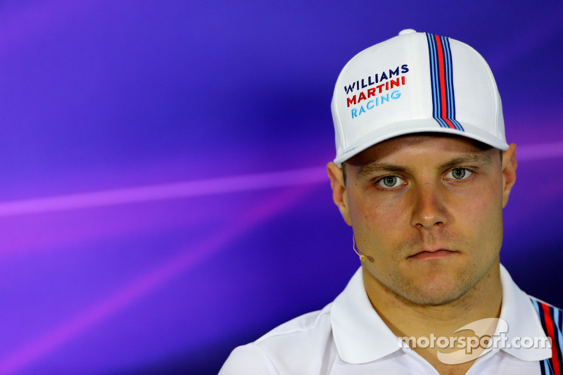 Valtteri Bottas, Williams F1 Team duante conferência de imprensa