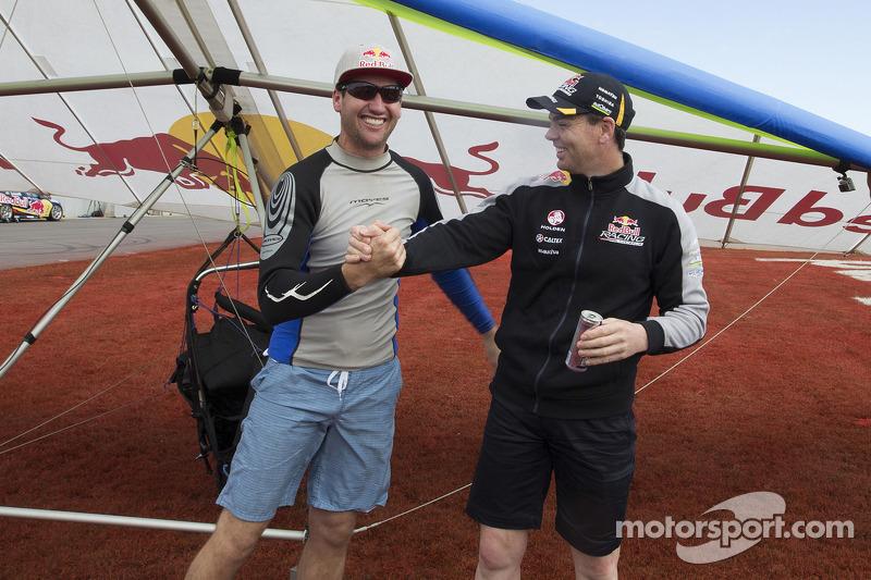 Craig Lowndes ve dünya rekortmeni Jonny Durand