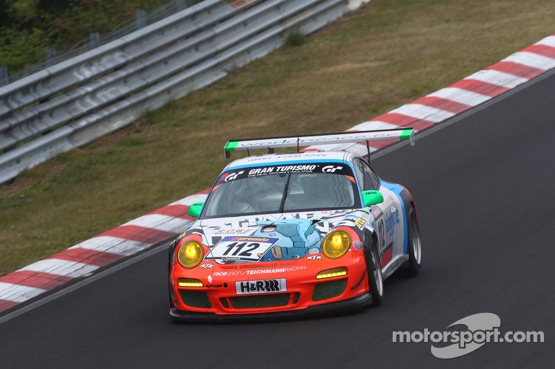 #112 Raceunion Teichmann Racing Porsche 911 GT3 Cup: Dominik Brinkmann, Felipe Laser, Markus Palttala