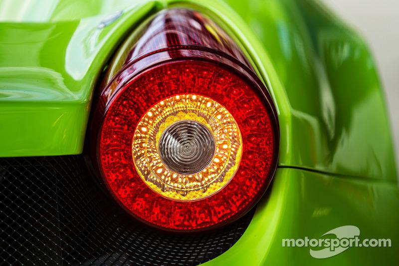 #57 Krohn Racing 法拉利 458 Italia 尾灯部分细节