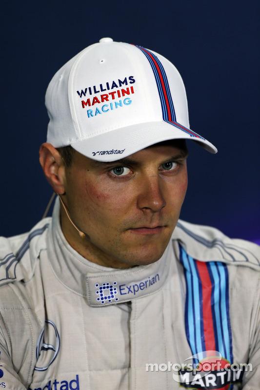 Valtteri Bottas, Williams na conferência de imprensa