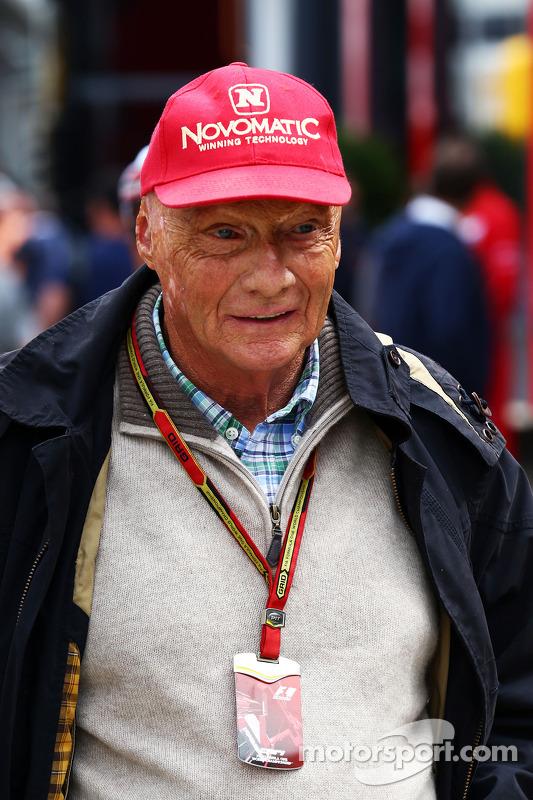 Niki Lauda, presidente não-executivo da Mercedes