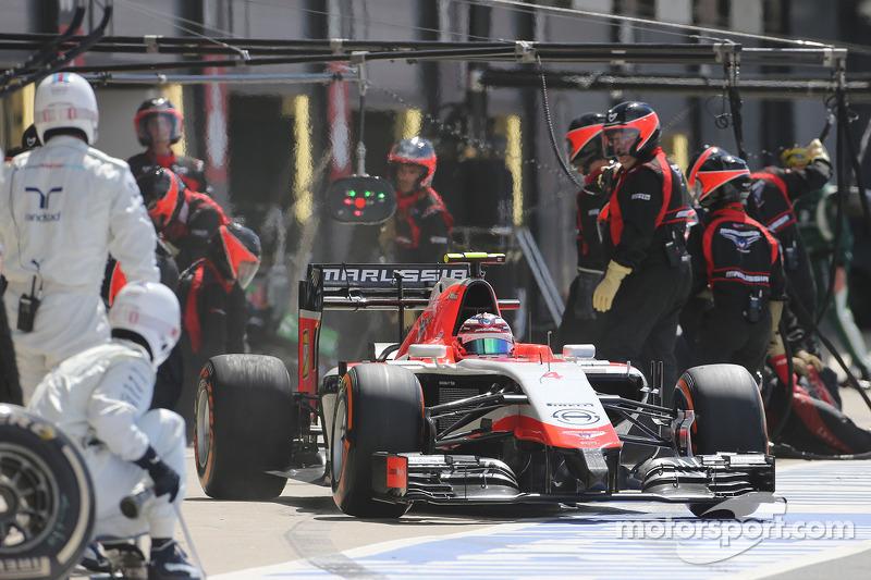 Boxenstopp: Max Chilton, Marussia F1 Team
