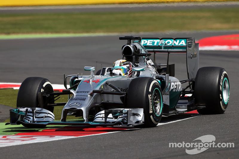 Ganador del Gran Premio de Gran Bretaña de F1 2014: Lewis Hamilton (Mercedes F1 W05 Hybrid)