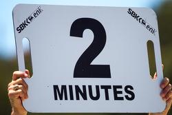 Superpole için son 2 dakika