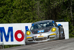 #81 GB Autosport Porsche 911 GT America: Ben Barker, Damien Faulkner