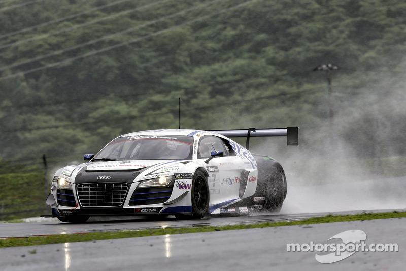 #7 Absolute Racing Audi R8 LMS ultra GT3: Jeffrey Lee, Christopher Mies
