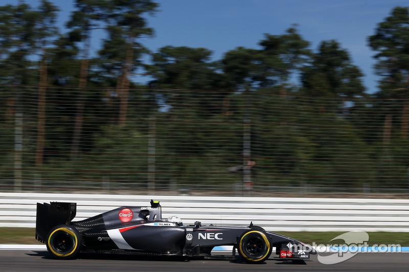 Giedo van der Garde, Üçüncü Pilotu, Sauber F1 Takımı