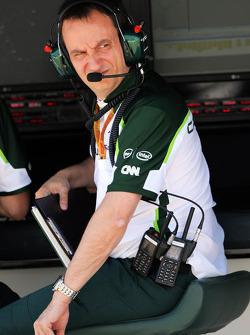 Gianluca Pisanello, Caterham F1 Takımı Pist Bölümü Mühendislik Başkanı
