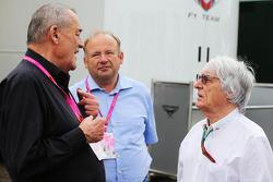 Bernie Ecclestone ve Paul Rosche, Former BMW Motorsport Teknik Şefi