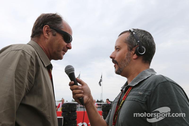 Gerhard Berger gridde