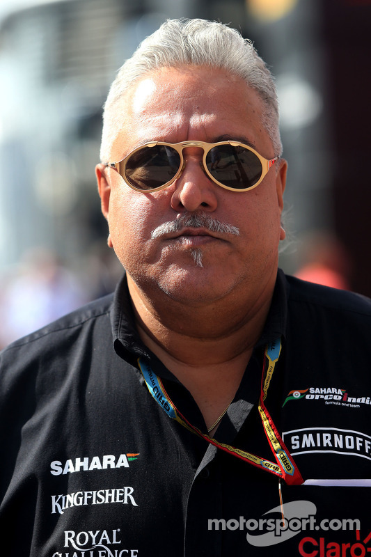 Vijay Mallya, Sahara Force India F1, Teambesitzer