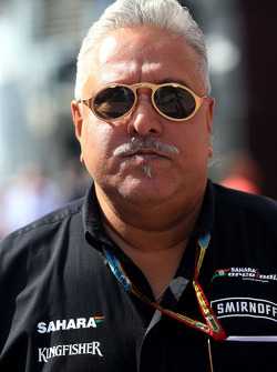 Vijay Mallya, Sahara Force India F1, Teambesitzer