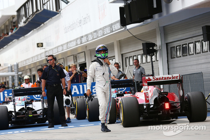 Felipe Massa, Williams in parc ferme