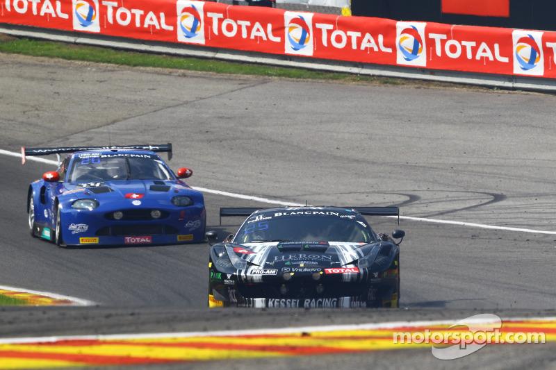 #11 Kessel Racing Ferrari 458 Italia: Michael Broniszewski, Alessandro Bonacini, Giacomo Petrobelli