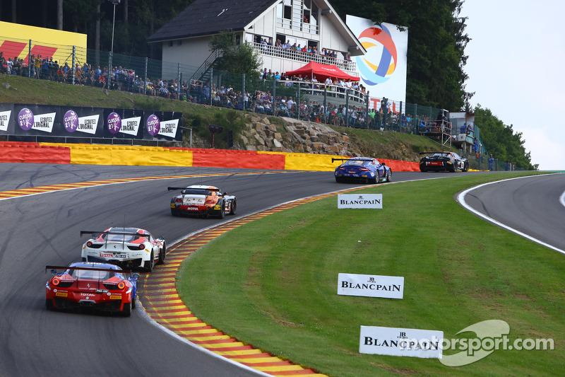 #120 Team SOFREV ASP Ferrari 458 Italia: Christophe Bourret, Pascal Gibon, Jean-Philippe Belloc, Julien Canal