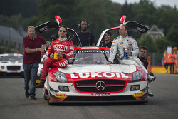 #85 HTP Motorsport 梅赛德斯 SLS AMG GT3: 卢卡斯·沃尔夫, 谢廖金·阿法纳谢夫, 斯特夫·杜塞尔多普